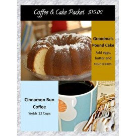 Coffee and Cake Package