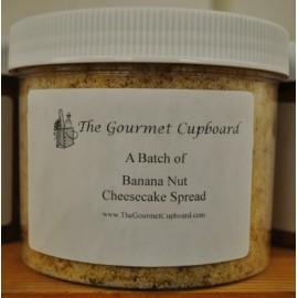 Banana Nut Cheesecake Spread Batch Jar