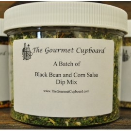 Black Bean and Corn Salsa Batch Jar