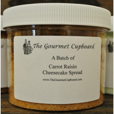 Carrot Raisin Cheesecake Spread Batch Jar