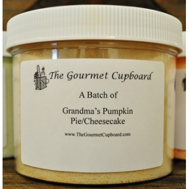 Grandma's Pumpkin Pie/Cheesecake Batch Jar