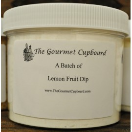 Lemon Fruit Dip Batch Jar