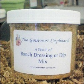 Ranch Dip/Dressing Batch Jar