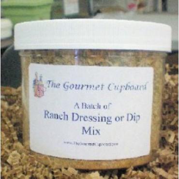 Ranch Dip/Dressing Batch Jar