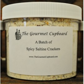 Spicy Saltine Crackers Batch Jar