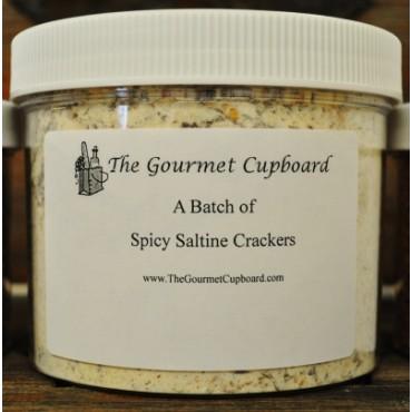 Spicy Saltine Crackers Batch Jar