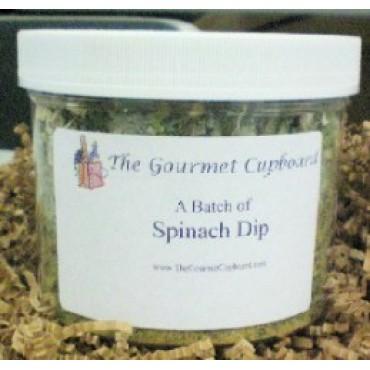 Spinach Dip Batch Jar