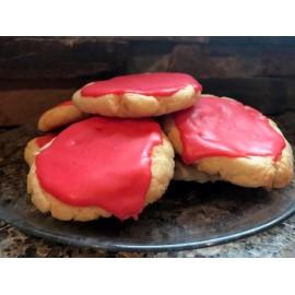 Glazed Amaretto Cookie