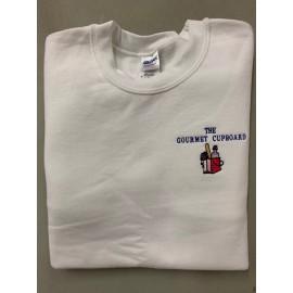 White Sweatshirt- Medium