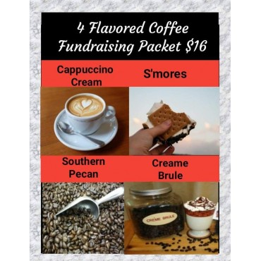 4 Flavored Coffees