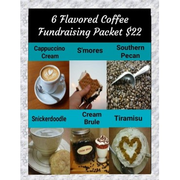 6 Flavored Coffees