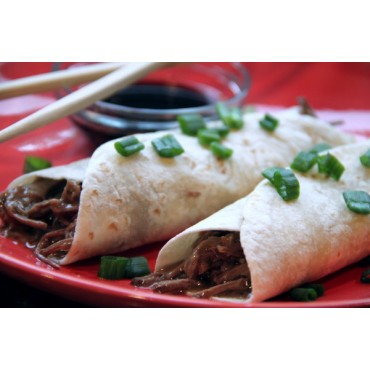 Slow Cooker Asian Pork Wraps Mix
