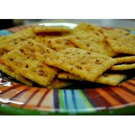 Spicy Saltine Cracker Mix