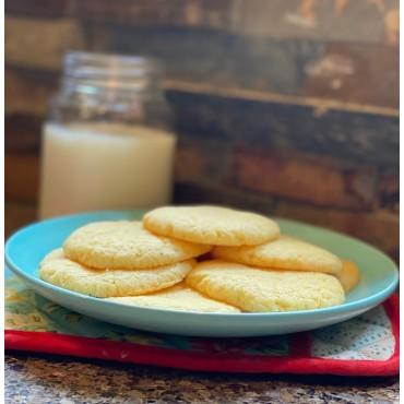 Sugar Free Vanilla Cookies